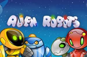 Alien Robots spelautomater NetEnt  wyrmspel.com