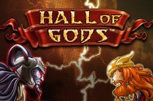 den online enarmade banditen Hall of Gods, NetEnt