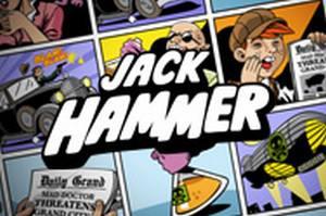 den online enarmade banditen Jack Hammer, NetEnt