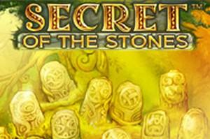 den online enarmade banditen Secret of the Stones, NetEnt