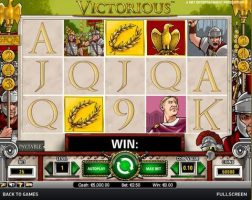 victorious-spelautomater-netent-ss