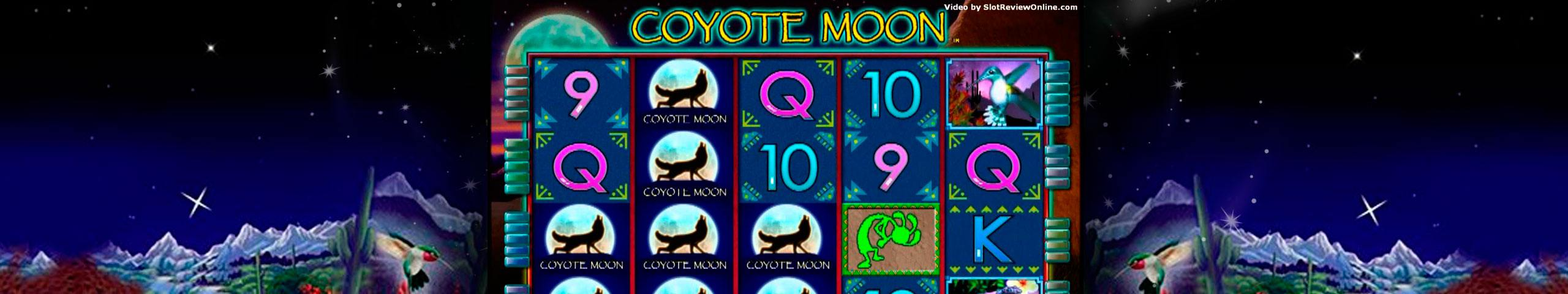 Coyote Moon spelautomater IGT (WagerWorks)  wyrmspel.com