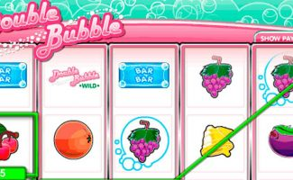 Double Bubble Gamesys wyrmspel slider