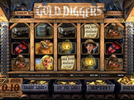 Gold Diggers Wyrmspel Spelautomater SS Betsoft