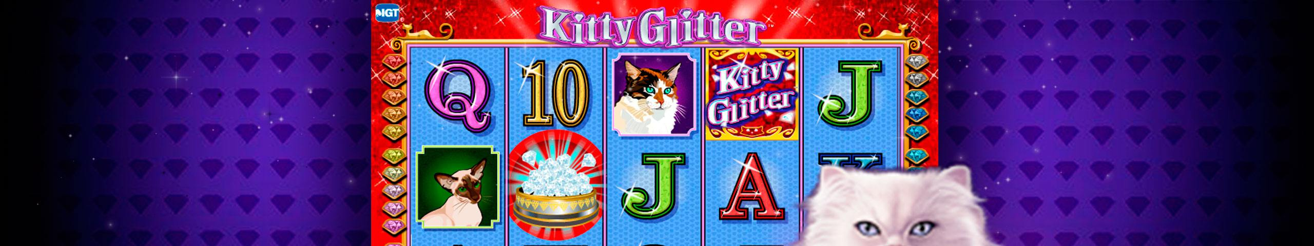 Kitty Glitter spelautomater IGT (WagerWorks)  wyrmspel.com