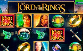Lord Of The Rings Microgaming wyrmspel slider