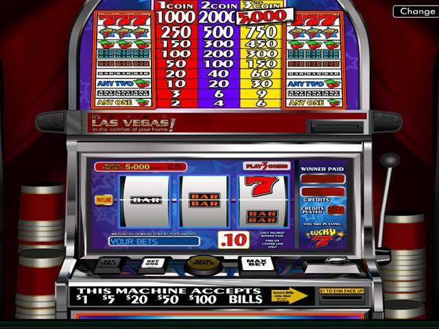 Lucky Seven Wyrmspel Spelautomater slider Betsoft