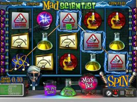 Mad Scientist Wyrmspel Spelautomater SS Betsoft