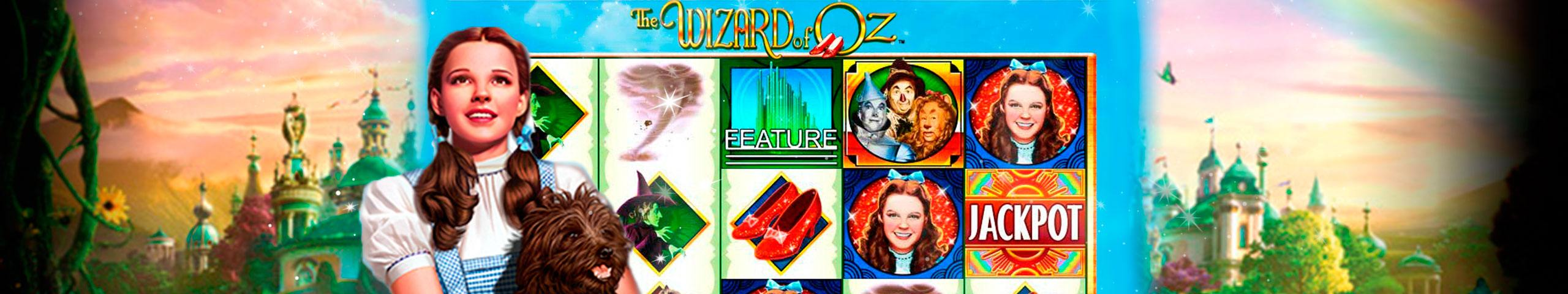 Wizard Of Oz spelautomater WMS (Williams Interactive)  wyrmspel.com