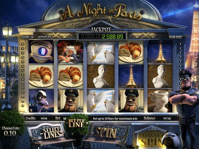A Night in Paris JP  betsoft spelautomater slider