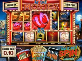 At the Movies betsoft spelautomater screenshot