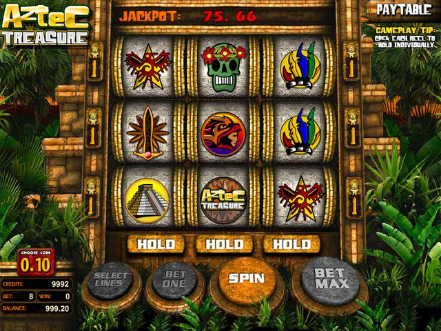 Aztec Treasure betsoft spelautomater screenshot