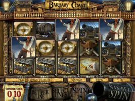 Barbary Coast betsoft spelautomater screenshot
