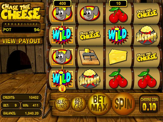 Chase the cheese™ Slot spel spela gratis i BetSoft Online Casinon