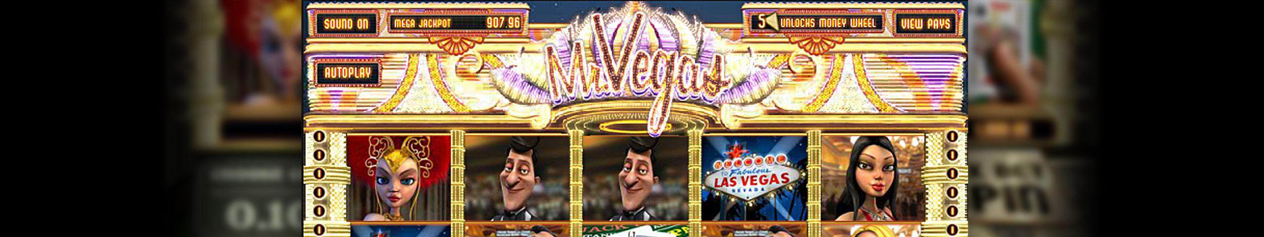 Mr. Vegas Mini betsoft spelautomater slider