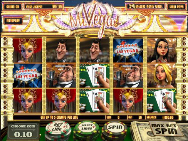Mr. Vegas Mini betsoft spelautomater screenshot