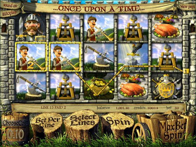 Once Upon A Time betsoft spelautomater slider