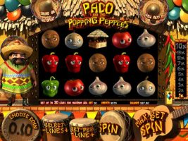 Paco and the Popping Peppers betsoft spelautomater screenshot