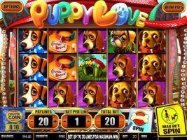 Puppy Love Plus betsoft spelautomater screenshot