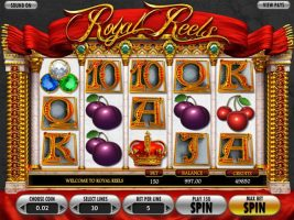 Royal Reels betsoft spelautomater screenshot
