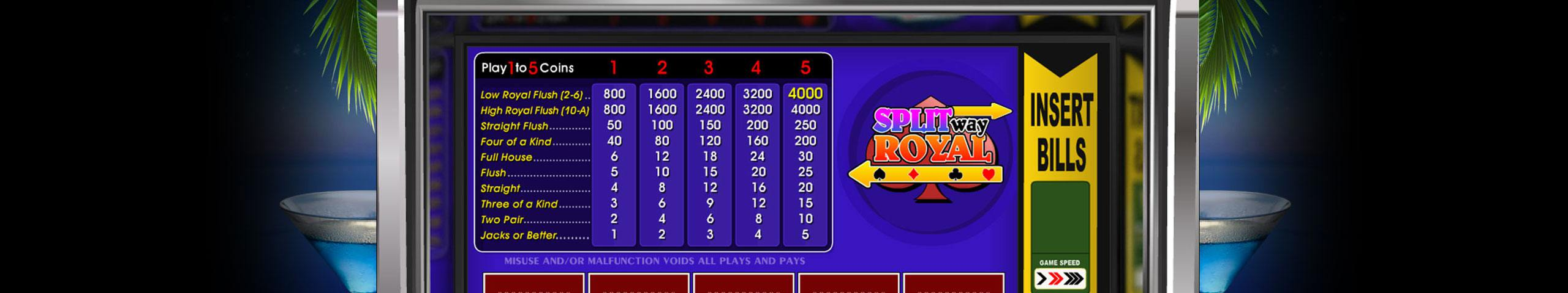 Spela 2 Ways Royal Video Poker Online på Casino.com Sverige