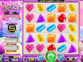 Sugar Pop betsoft spelautomater screenshot