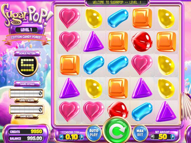 Sugar Pop betsoft spelautomater slider