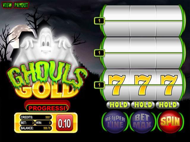 The Ghouls betsoft spelautomater screenshot