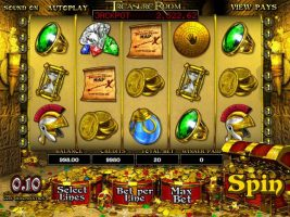 Treasure Room betsoft spelautomater screenshot