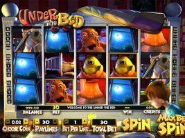 Under the Bed Betsoft spelautomater screenshot