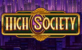 High Society spelautomater Microgaming  wyrmspel.com