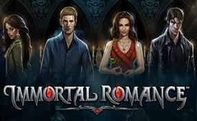 Immortal Romance spelautomater Microgaming  wyrmspel.com