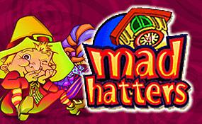 Mad Hatters spelautomater Microgaming  wyrmspel.com