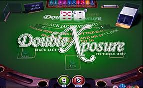 Double Exposure Blackjack Professional Series Standard Limit NetEnt thumbnail