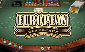 European Blackjack Gold Microgaming thumbnail