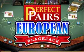 Multi-Hand Perfect Pairs Blackjack Gold Microgaming thumbnail