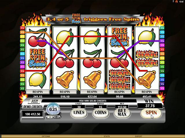 Retro <a href='https://wyrmspel.com/online-casino/123-slots-online/'>Reels Extreme Microgaming spelautomater</a> screenshot