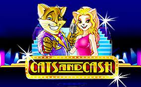 Spelautomater Cats and Cash PlaynGo Thumbnail - wyrmspel.com