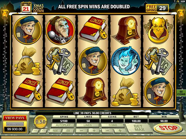 Spelautomater Scrooge Microgaming SS - wyrmspel.com