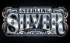 Sterling Silver 3D/2D spelautomater Microgaming  wyrmspel.com