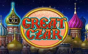 Spelautomater The Great Czar Microgaming Thumbnail - wyrmspel.com