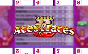 Aces and Faces spelautomater Rival  wyrmspel.com