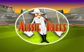 Aussie Rules spelautomater Rival  wyrmspel.com