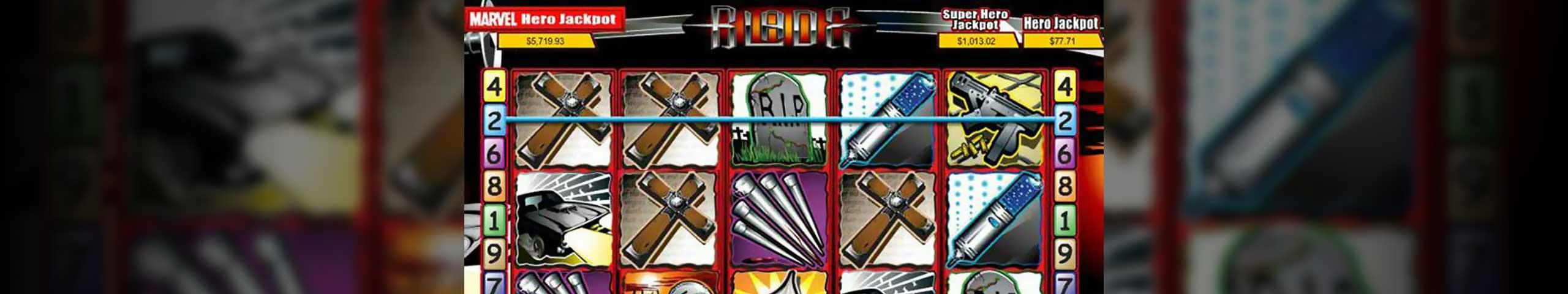 Spelautomater Blade, Cryptologic Slider - Wyrmspel.com