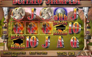 Spelautomater Blazin' Buffalo, Rival Gaming SS - Wyrmspel.com