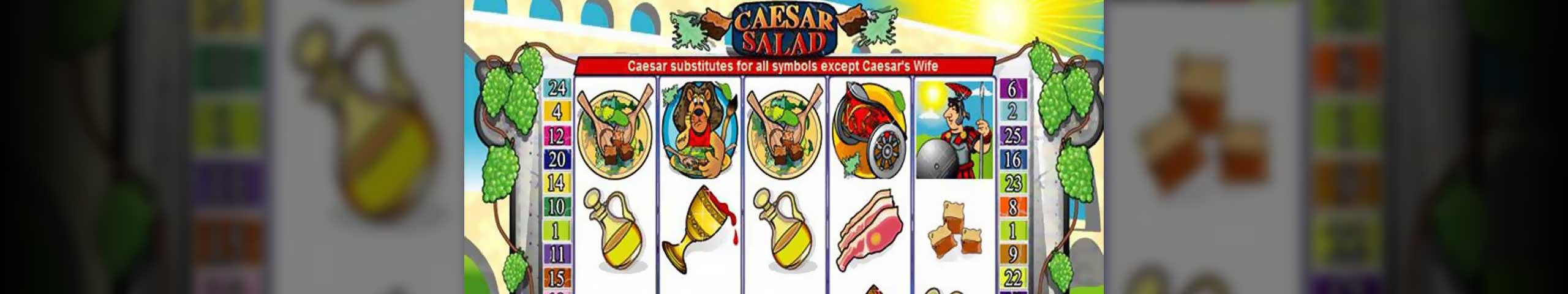 Spelautomater Caesar Salad, Cryptologic Slider - Wyrmspel.com