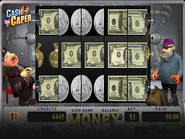 Spelautomater Cash Caper, Cryptologic SS - Wyrmspel.com