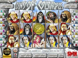 Spelautomater Coins of Olympus, Rival Gaming SS - Wyrmspel.com