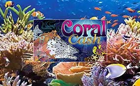 Coral Cash spelautomater Cryptologic (WagerLogic)  wyrmspel.com
