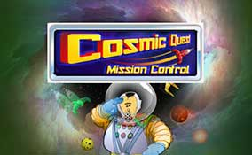Cosmic Quest: Mission Control spelautomater Rival  wyrmspel.com